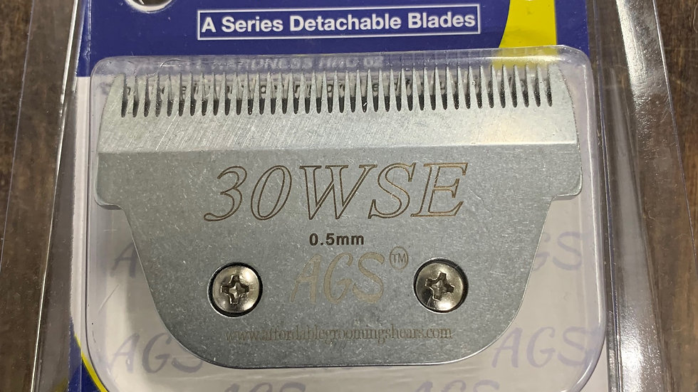 AGS WSE #30 Wide Blade (steel)