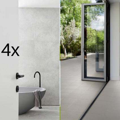 4x Bathrooms + Internal & External Floor