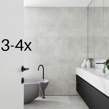 Selection for 3-4x Bathrooms