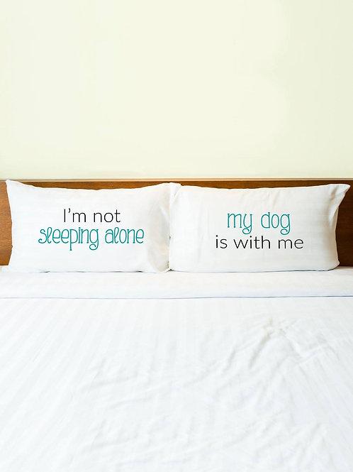 Sleeping Alone Pillowcase Set