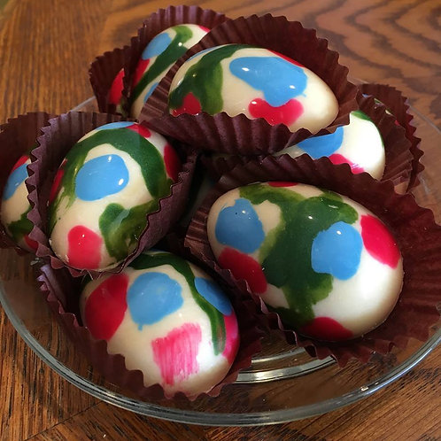 Small Chocolate Eggs - One Dozen