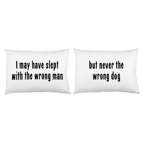 Wrong Man Pillowcase Set