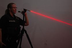 Laser trajectory