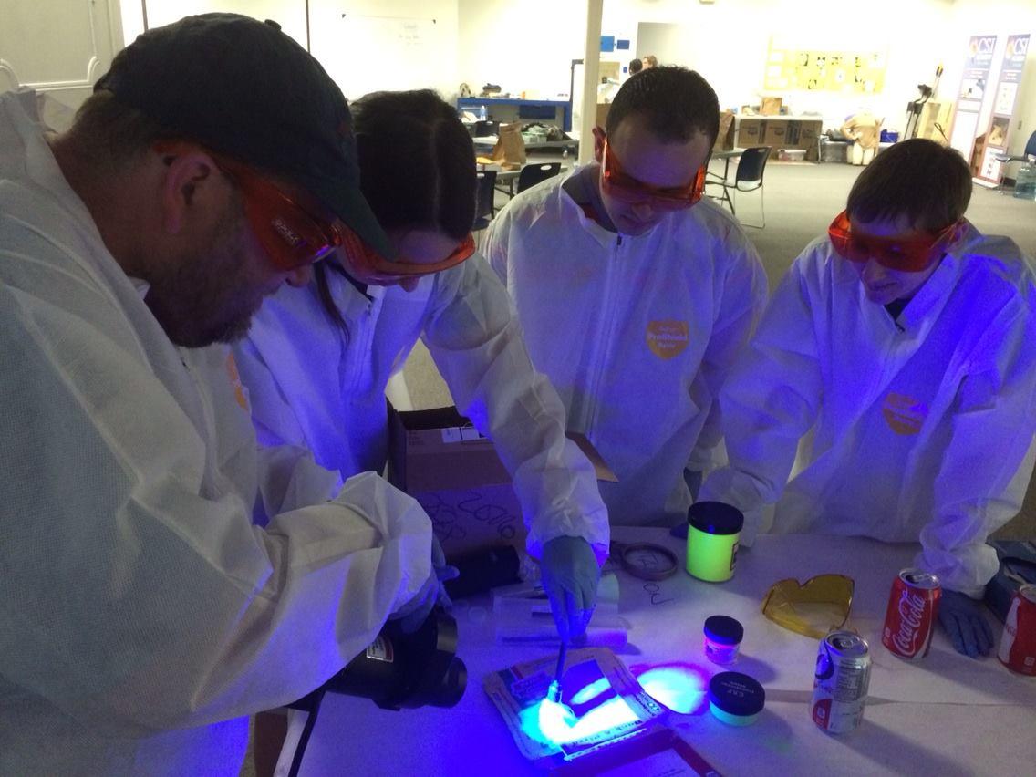 Fluorescent Powders Training
