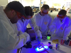 Fluorescent Powders Training