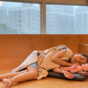 照護寶貝的細皮嫩肉:四重紗防踢被+有機棉緹花織帶浴巾