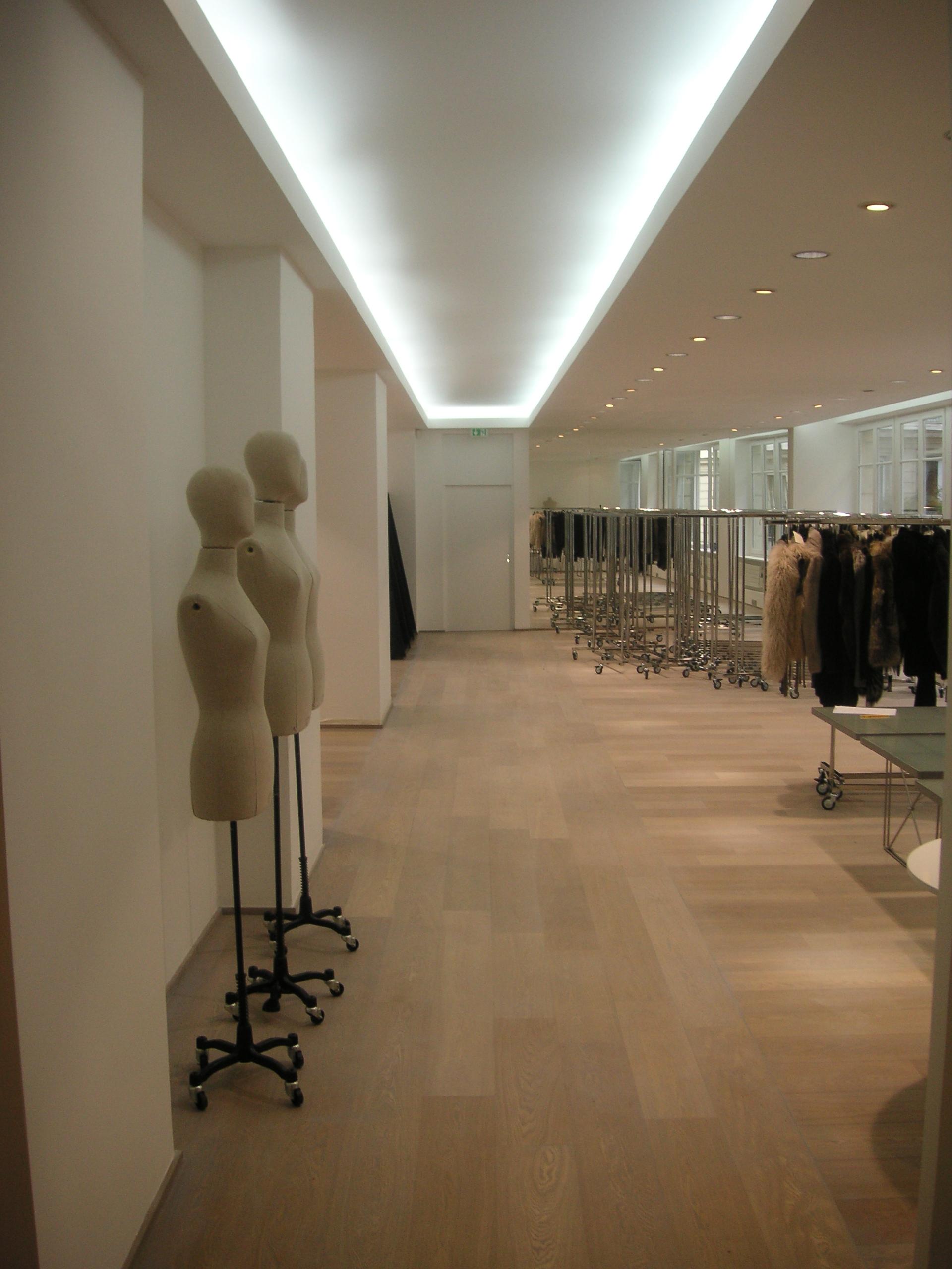 Show-room Yves Salomon, Paris