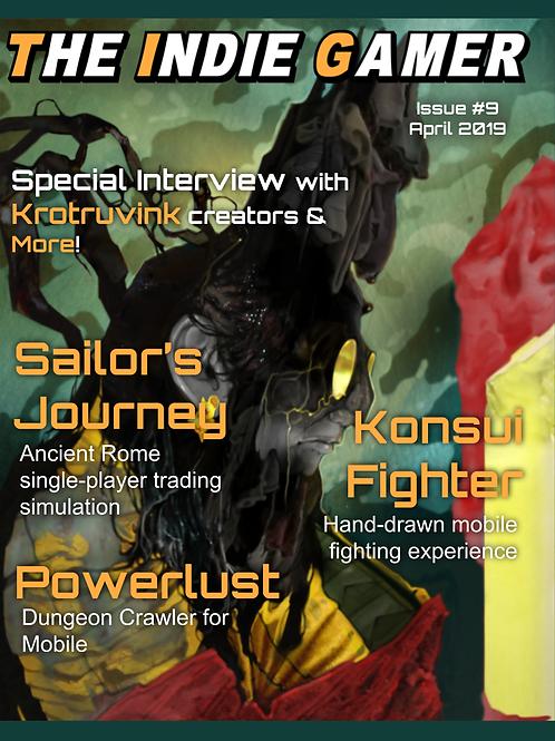 The Indie Gamer #9 - Print