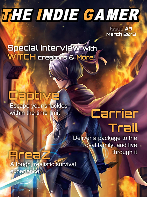 The Indie Gamer #8 - Print