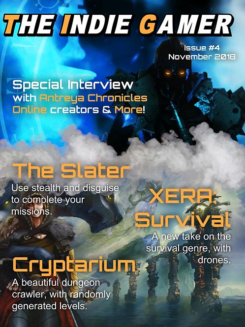 The Indie Gamer #4 -Print