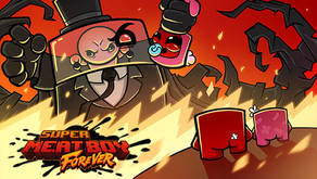 Super Meat Boy Forever So Close But No Nugget