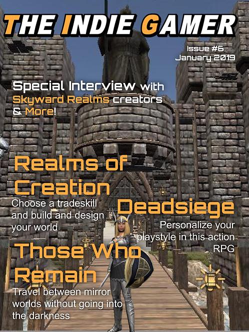 The Indie Gamer #6 - Print