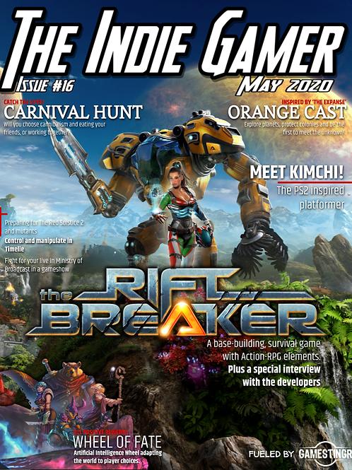 The Indie Gamer #16- Print
