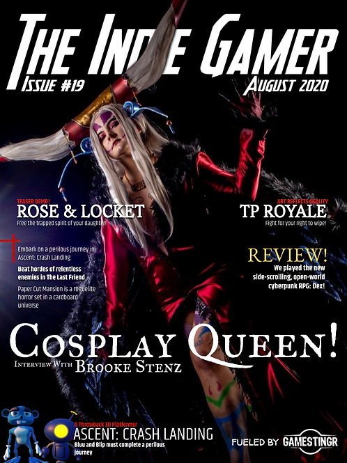 The Indie Gamer #19 - Print