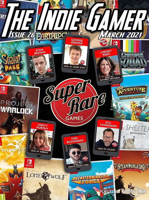 The Indie Gamer #26 - Print Special Cover