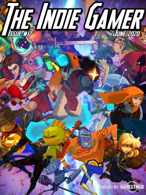 The Indie Gamer #17 Print