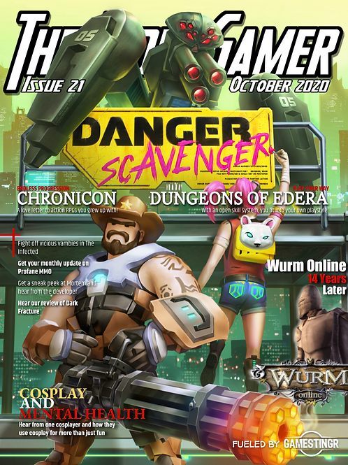 The Indie Gamer #21 - Print