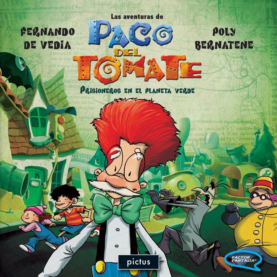 """""""Paco del Tomate, la historieta"""