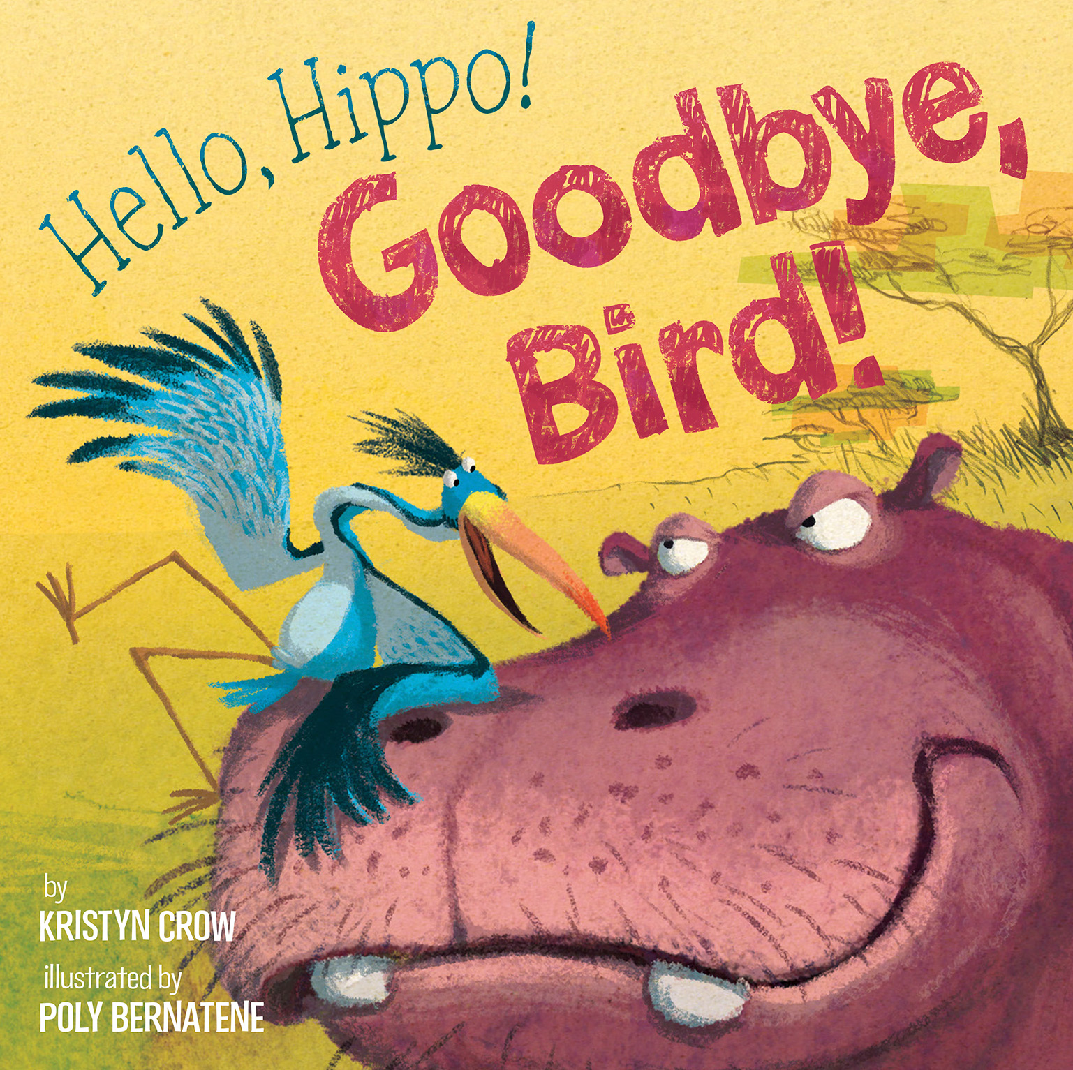 Hello Hippo, goodbye bird!