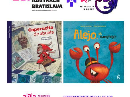Mis libros seleccionados para la Bienal de Bratislava 2021
