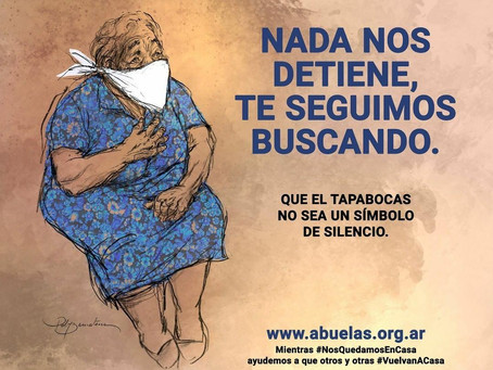 Campaña Abuelas de Plaza de Mayo