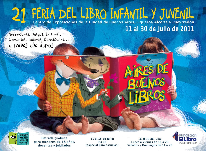 Afiche Feria del libro infantil