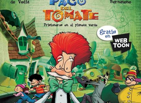Seguí la historieta de Paco del Tomate Gratis y online