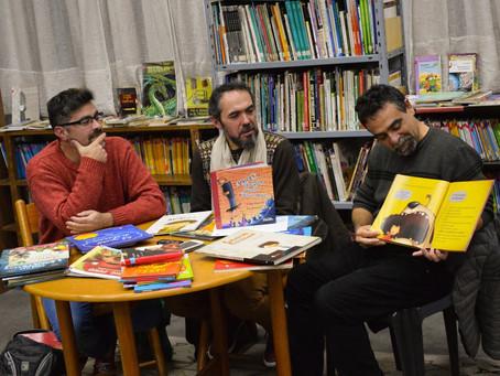 """""""Tenemos la suerte de construir nuestros libros entre los dos"""""""