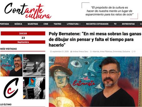 Entrevista al portal Contarte Cultura