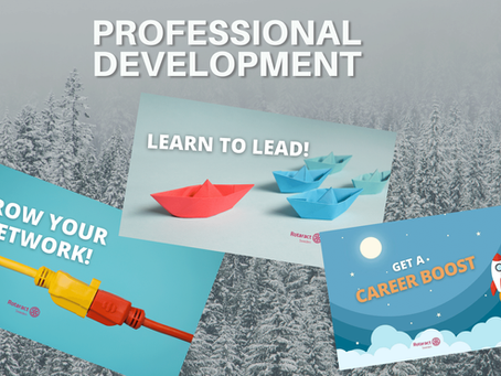 Professional Development - Winter Events 2021 (recap)