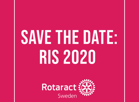 SAVE THE DATE: RIS 2020