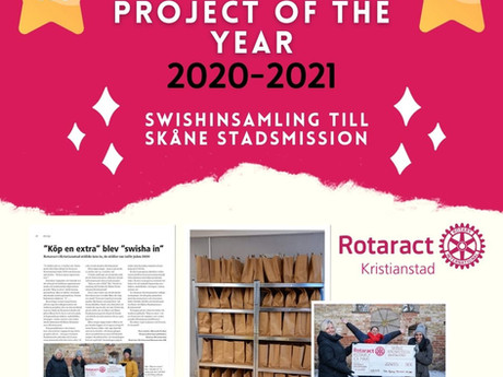 Winners of the Best community project of the year 2020-2021