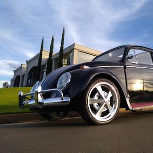 VW FUSCA 62 CAL-STYLE - PRETO