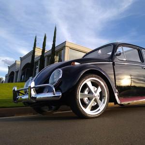 VW FUSCA 62 CAL-STYLE PRETO