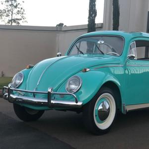 VW FUSCA 62 ORIGINAL COM TETO SOLAR - VERDE CLARO