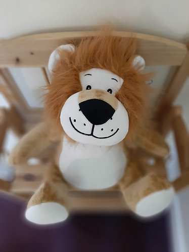 Leo - personalised soft toy