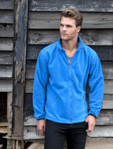 Unisex Fleece - 1 x Logo embroidered to chest