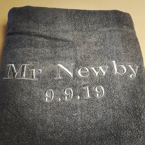 Honeymoon Towel