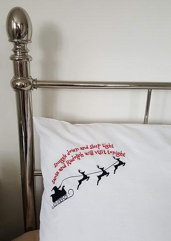 Christmas Eve Pillow case