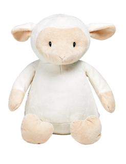 Cubbie Lamb - personalised soft toy