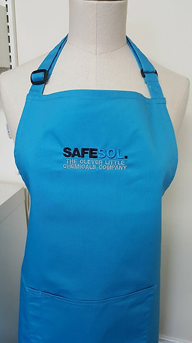Apron - full length & pocket - 1 x Logo embroidered
