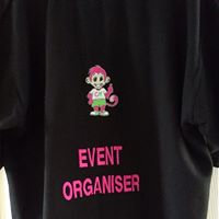 Additional embroidery -Large name/wording