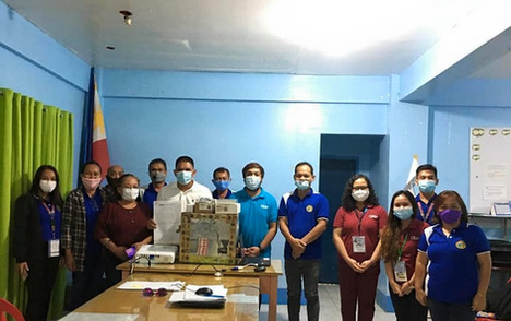 CDP turns over AWS equipment to Tambulig MDRRM Office