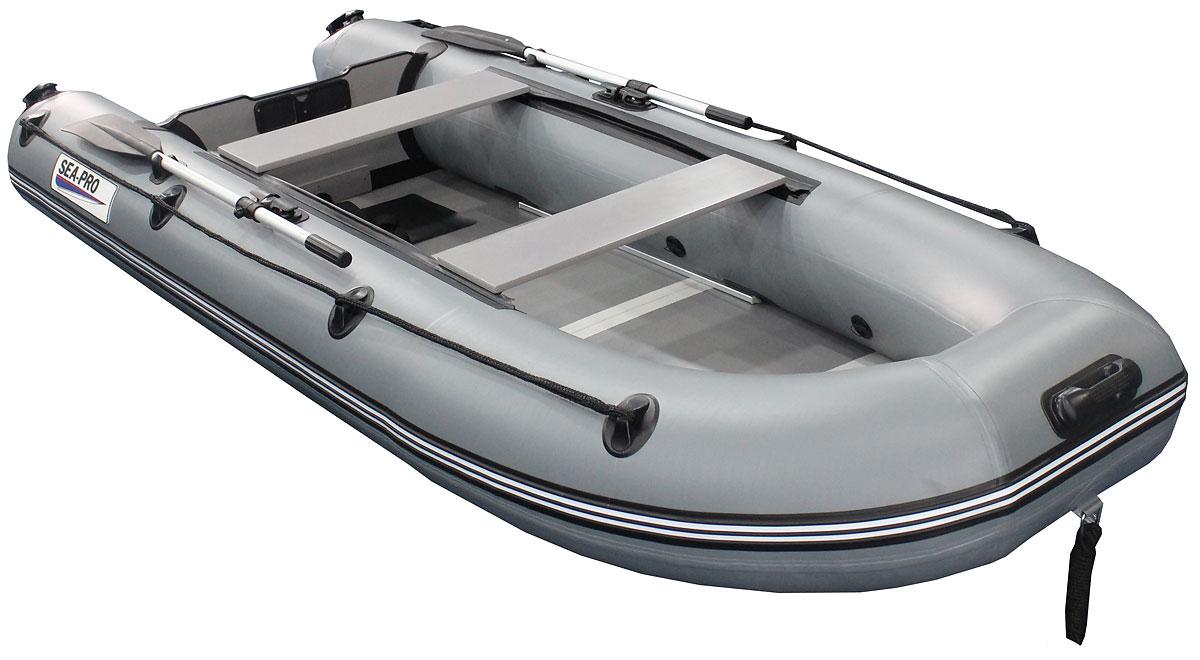 Надувная лодка Sea pro l280p grey