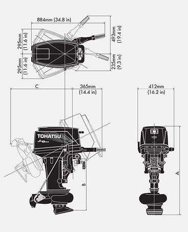 лодочные моторы Tohatsu