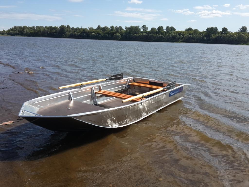 алюминиевая лодка Тактика 370