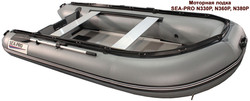 Надувная лодка Sea pro n330p grey