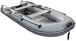 Надувная лодка пвх l330p grey