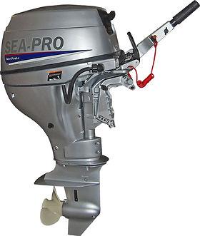 лодочные моторы sea pro F15S