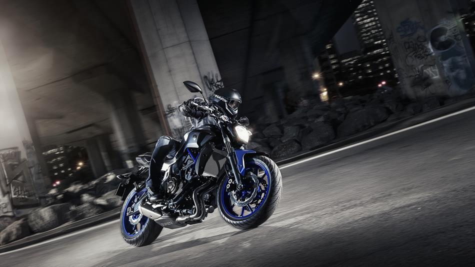 Мотоциклы Yamaha MT-07